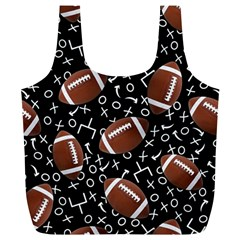 Football Player Full Print Recycle Bags (L)