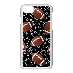 Football Player Apple Iphone 7 Seamless Case (white)