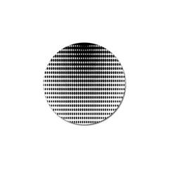 Dark Circles Halftone Black White Copy Golf Ball Marker (4 pack)