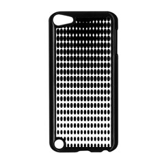 Dark Circles Halftone Black White Copy Apple iPod Touch 5 Case (Black)