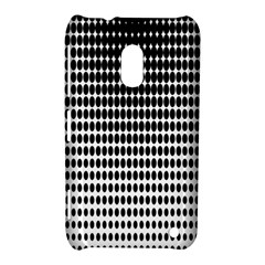 Dark Circles Halftone Black White Copy Nokia Lumia 620