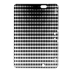 Dark Circles Halftone Black White Copy Kindle Fire HDX 8.9  Hardshell Case