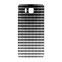 Dark Circles Halftone Black White Copy Samsung Galaxy Alpha Hardshell Back Case
