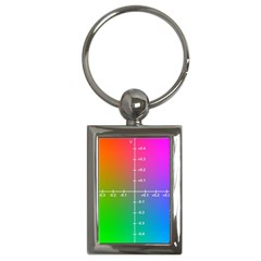 Formula Plane Rainbow Key Chains (Rectangle)