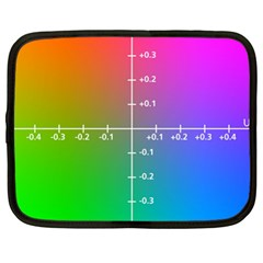 Formula Plane Rainbow Netbook Case (XL)