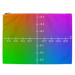 Formula Plane Rainbow Cosmetic Bag (XXL)