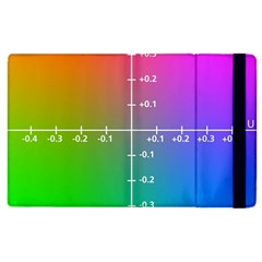 Formula Plane Rainbow Apple iPad 3/4 Flip Case