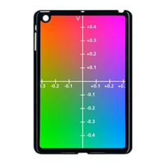 Formula Plane Rainbow Apple iPad Mini Case (Black)