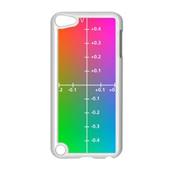 Formula Plane Rainbow Apple iPod Touch 5 Case (White)