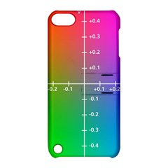 Formula Plane Rainbow Apple iPod Touch 5 Hardshell Case with Stand