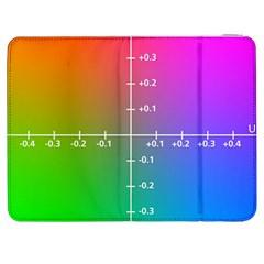 Formula Plane Rainbow Samsung Galaxy Tab 7  P1000 Flip Case