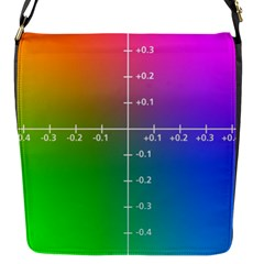 Formula Plane Rainbow Flap Messenger Bag (S)