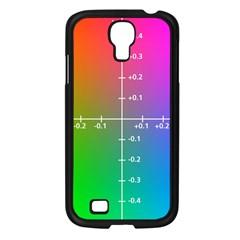 Formula Plane Rainbow Samsung Galaxy S4 I9500/ I9505 Case (Black)