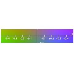 Formula Plane Rainbow Flano Scarf (Large)