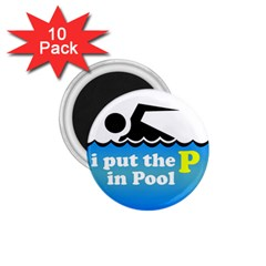 Funny Swiming Water 1.75  Magnets (10 pack)