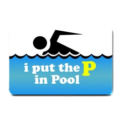 Funny Swiming Water Small Doormat