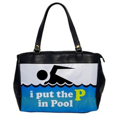 Funny Swiming Water Office Handbags