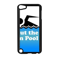 Funny Swiming Water Apple iPod Touch 5 Case (Black)