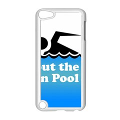Funny Swiming Water Apple iPod Touch 5 Case (White)