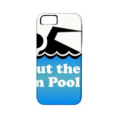 Funny Swiming Water Apple iPhone 5 Classic Hardshell Case (PC+Silicone)