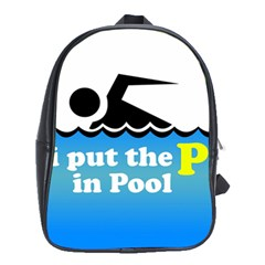 Funny Swiming Water School Bags (XL)