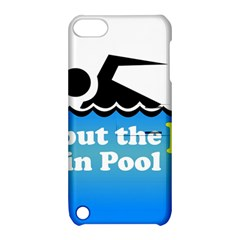 Funny Swiming Water Apple iPod Touch 5 Hardshell Case with Stand
