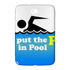 Funny Swiming Water Samsung Galaxy Note 8.0 N5100 Hardshell Case
