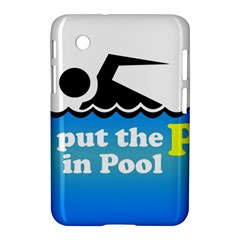 Funny Swiming Water Samsung Galaxy Tab 2 (7 ) P3100 Hardshell Case