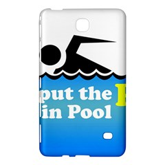 Funny Swiming Water Samsung Galaxy Tab 4 (7 ) Hardshell Case