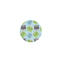 Frog Green 1  Mini Buttons