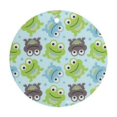 Frog Green Ornament (Round)
