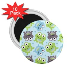 Frog Green 2.25  Magnets (10 pack)