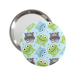 Frog Green 2.25  Handbag Mirrors