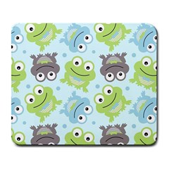 Frog Green Large Mousepads