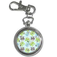 Frog Green Key Chain Watches