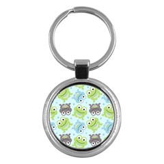 Frog Green Key Chains (Round)