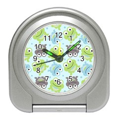 Frog Green Travel Alarm Clocks