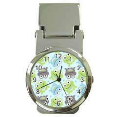 Frog Green Money Clip Watches