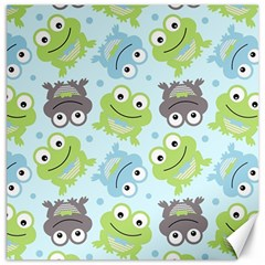 Frog Green Canvas 20  x 20