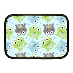 Frog Green Netbook Case (Medium)