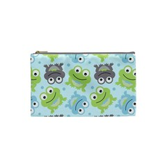 Frog Green Cosmetic Bag (Small)
