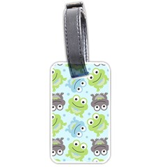 Frog Green Luggage Tags (One Side)