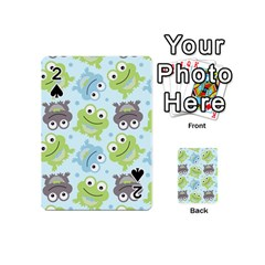 Frog Green Playing Cards 54 (Mini)