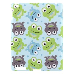 Frog Green Apple iPad 3/4 Hardshell Case