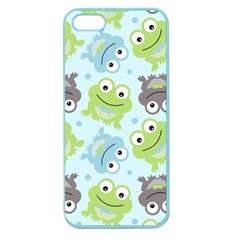 Frog Green Apple Seamless iPhone 5 Case (Color)