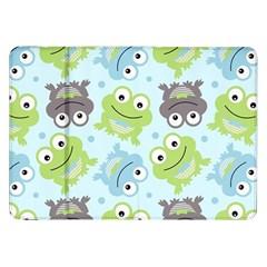 Frog Green Samsung Galaxy Tab 8.9  P7300 Flip Case