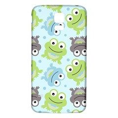 Frog Green Samsung Galaxy S5 Back Case (White)