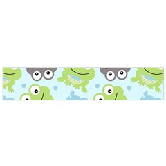 Frog Green Flano Scarf (Small)