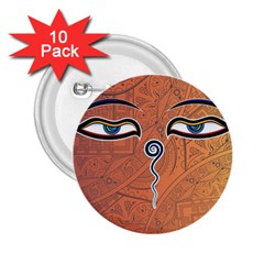 Face Eye 2.25  Buttons (10 pack)