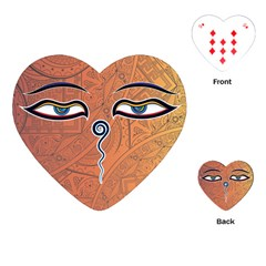 Face Eye Playing Cards (Heart)